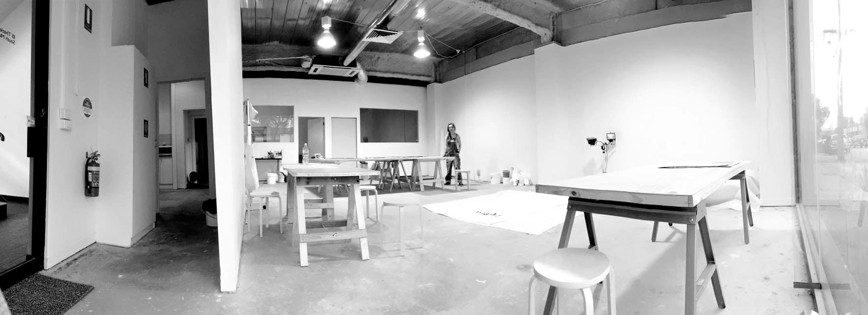 Creative studio at Laurent Contemporary Art Gallery and Cafe, image 1