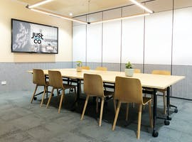 Just Smile, meeting room at JustCo, image 1