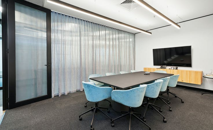 Murray 10 Person Boardroom, meeting room at 607 Bourke Street, image 1