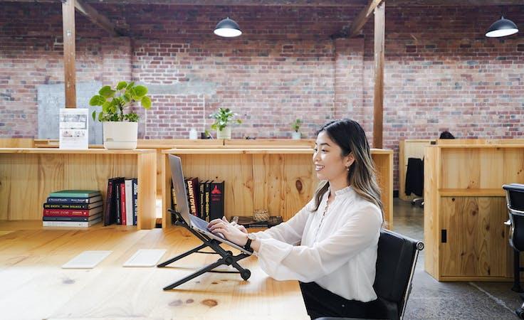 Dedicated Desks (Solo Desk), dedicated desk at The Hive Collingwood, image 1