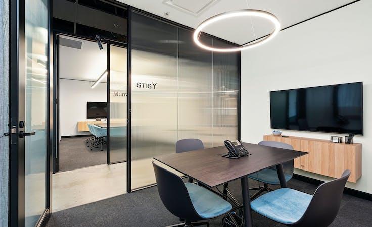 Yarra 6 Person Meeting Room, meeting room at 607 Bourke Street, image 1
