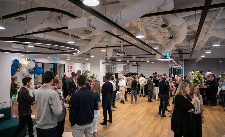 Open Event Space - Compliant with Government Covid 19 regulations, function room at JustCo William Street, image 1