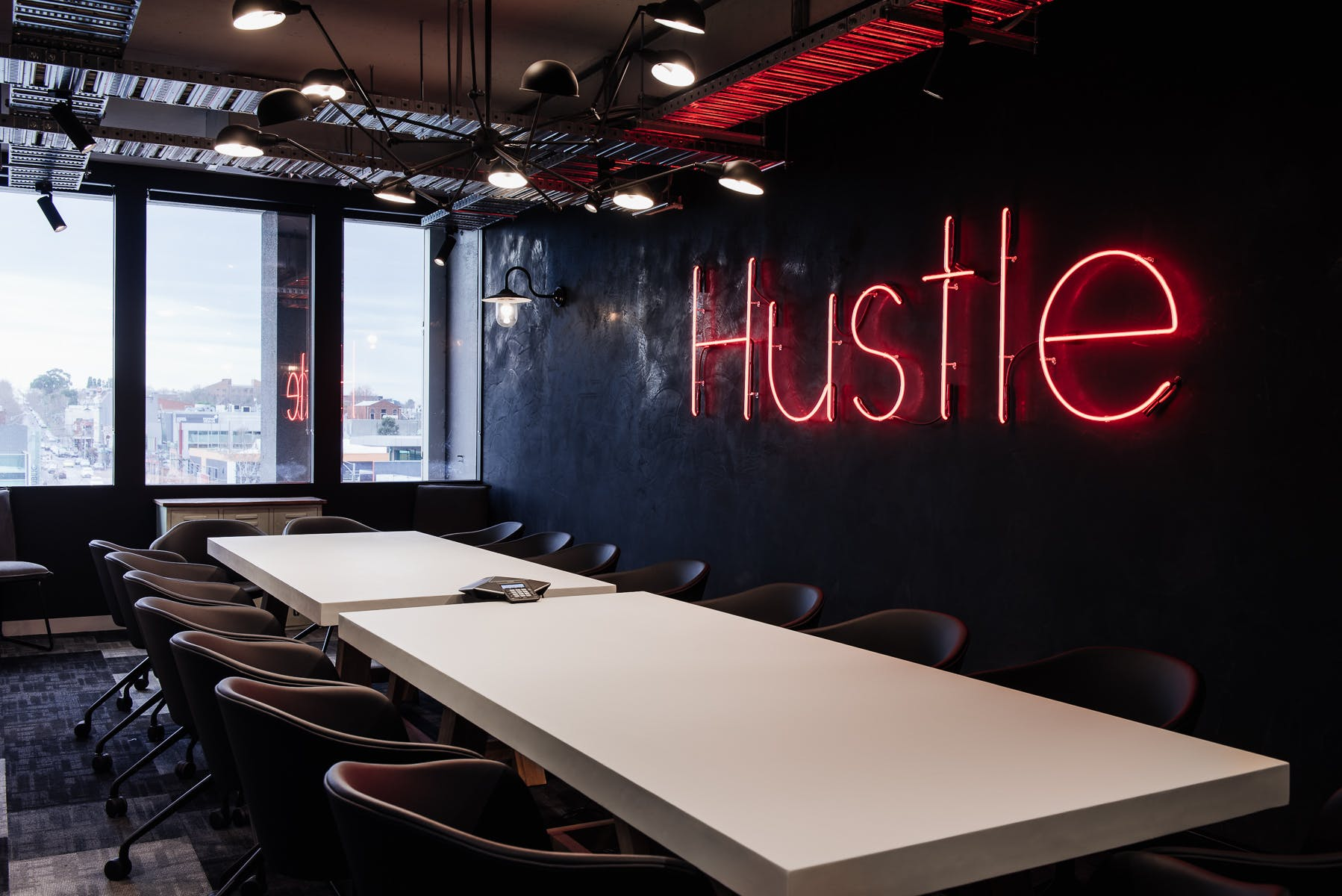 Hustle Room, meeting room at Building X, Richmond, image 1