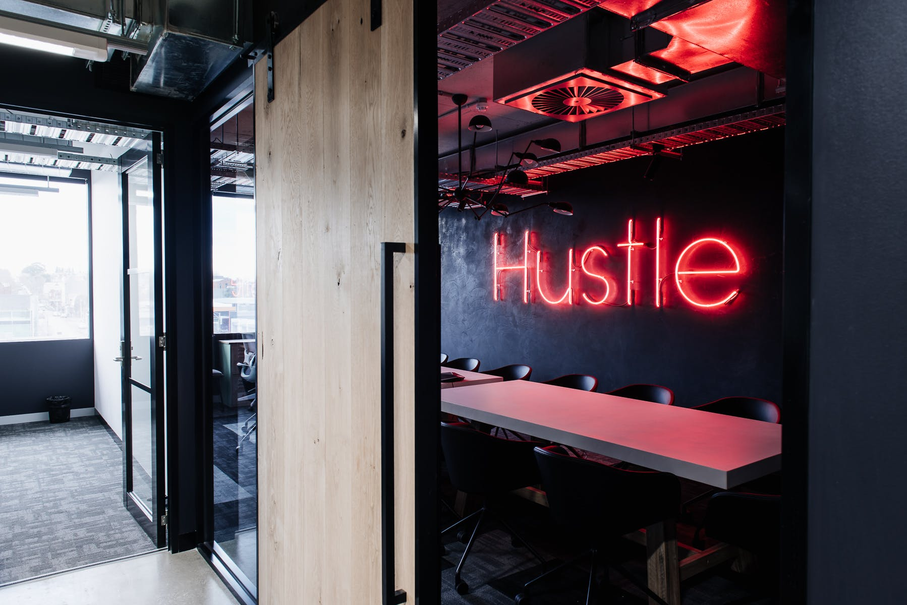 Hustle Room, meeting room at Building X, Richmond, image 2