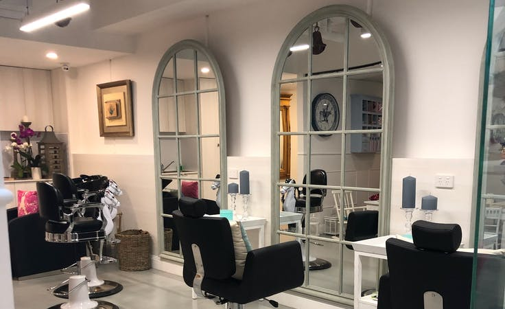 Hair and Brow Salon Chair, multi-use area at Meddling Mother Goose, image 1