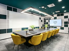 Just Conquer, meeting room at JustCo Pitt Street, image 1