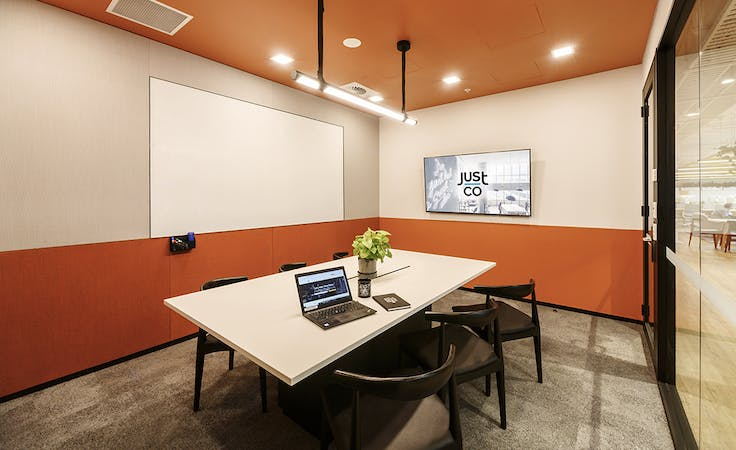 Just Share, meeting room at JustCo Pitt Street, image 1