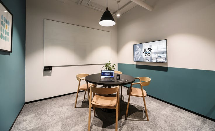 Just Smile, meeting room at JustCo Pitt Street, image 1