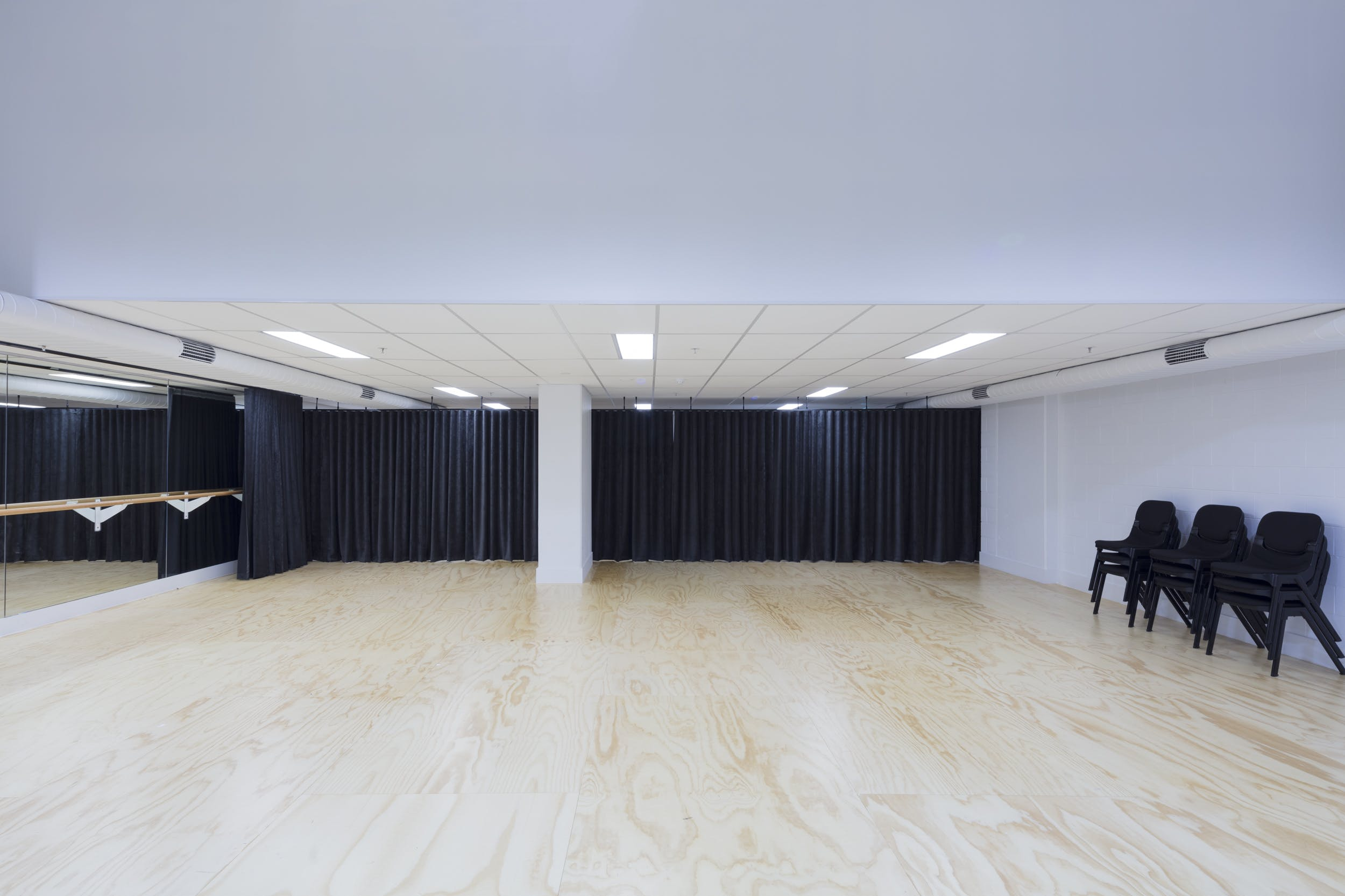 Studio 2, multi-use area at NIDA Melbourne Studios, image 1