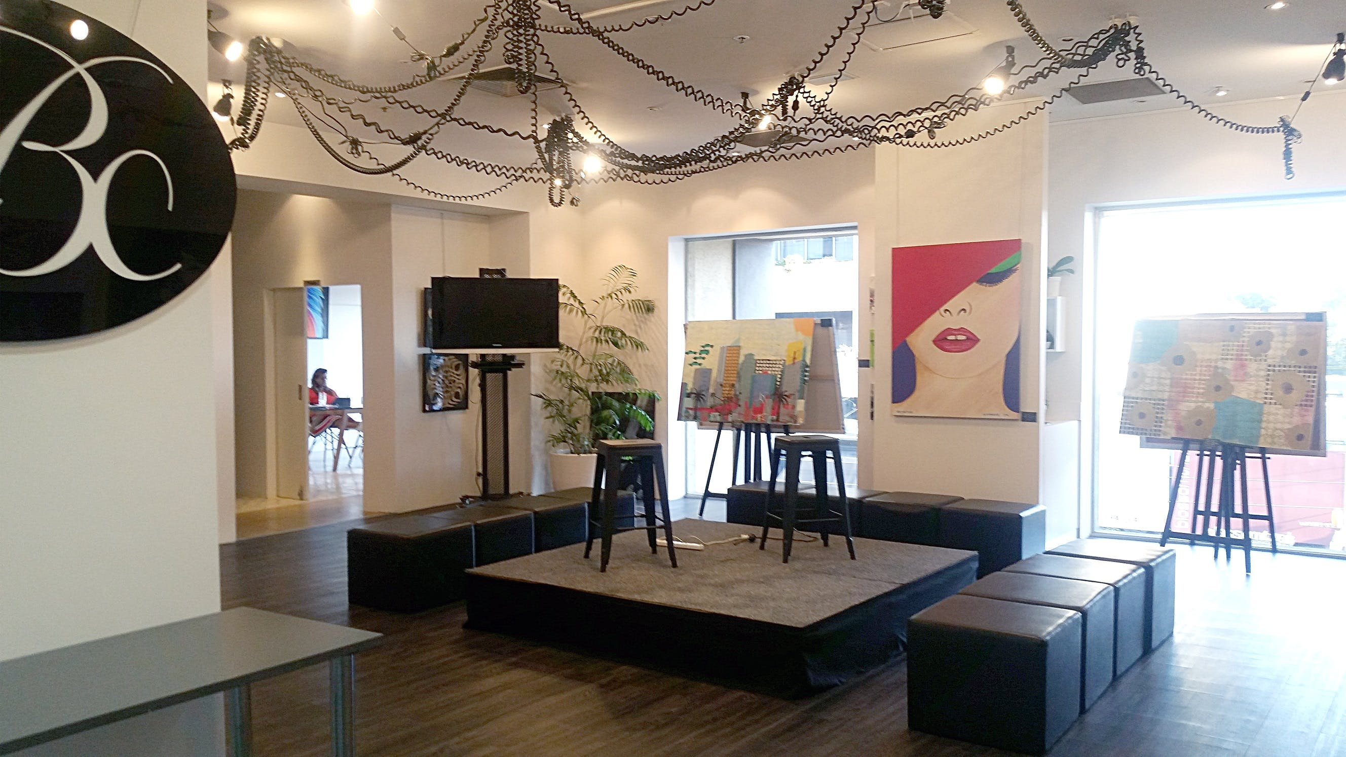 Art Gallery / Events / Retail or Fashion Pop-Up Space, multi-use area at Blush Creative, image 1