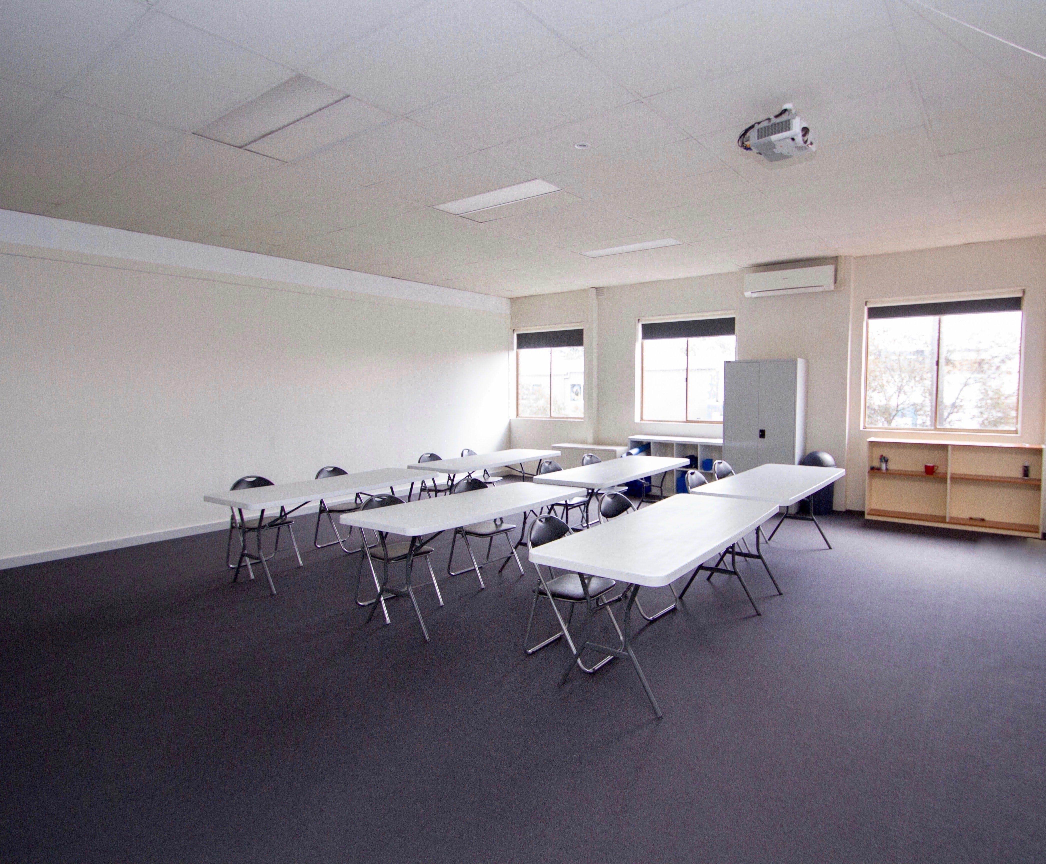 Training room at Manufactory Community, image 1