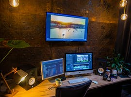 Edit suite , private office at Galloway Arms, image 1