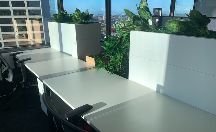 Hot Desk + Coworking Desks with River Views on Eagle Street, coworking at The Gold Tower, image 1