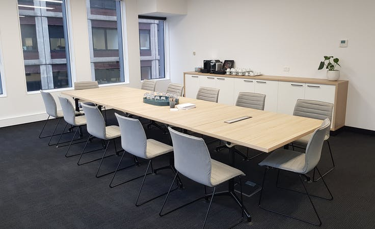 Hoddle, meeting room at Space Station 440 Collins St, image 1