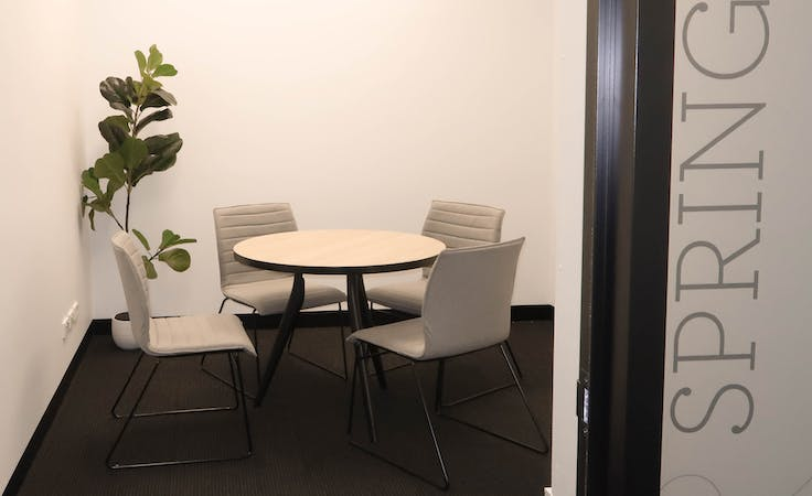 Spring, meeting room at Space Station 440 Collins St, image 1