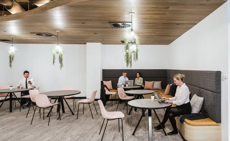 Spring, meeting room at Space Station 440 Collins St, image 3
