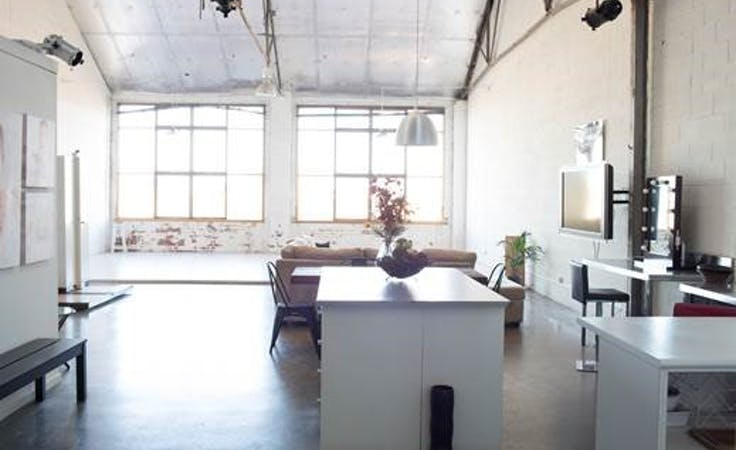 Creative space with plenty of natural light for photography, image 1
