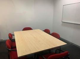 Match Box | 6 Person Meeting Room, meeting room at 90 Maribyrnong Street, image 1