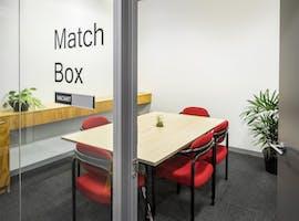 Match Box | 6 Person Meeting Room, meeting room at 90 Maribyrnong Street, image 1