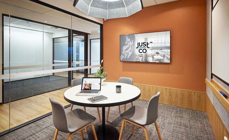 Just Conquer & Just Explore , meeting room at JustCo William Street, image 1