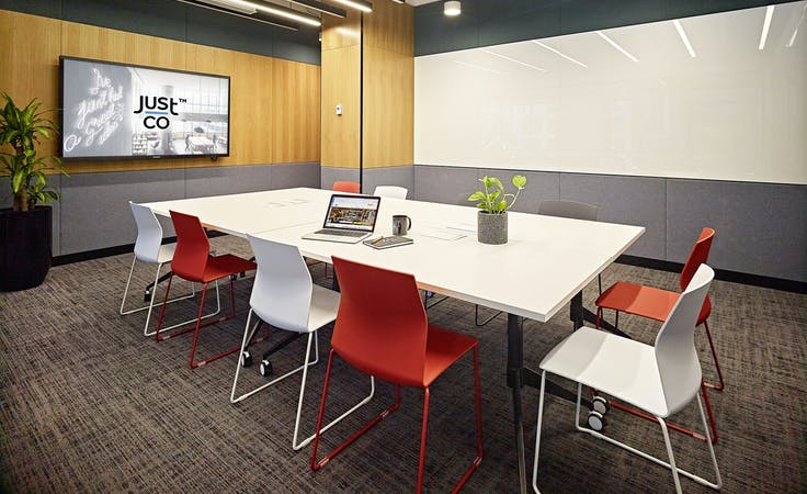 Just Shine, meeting room at JustCo William Street, image 1