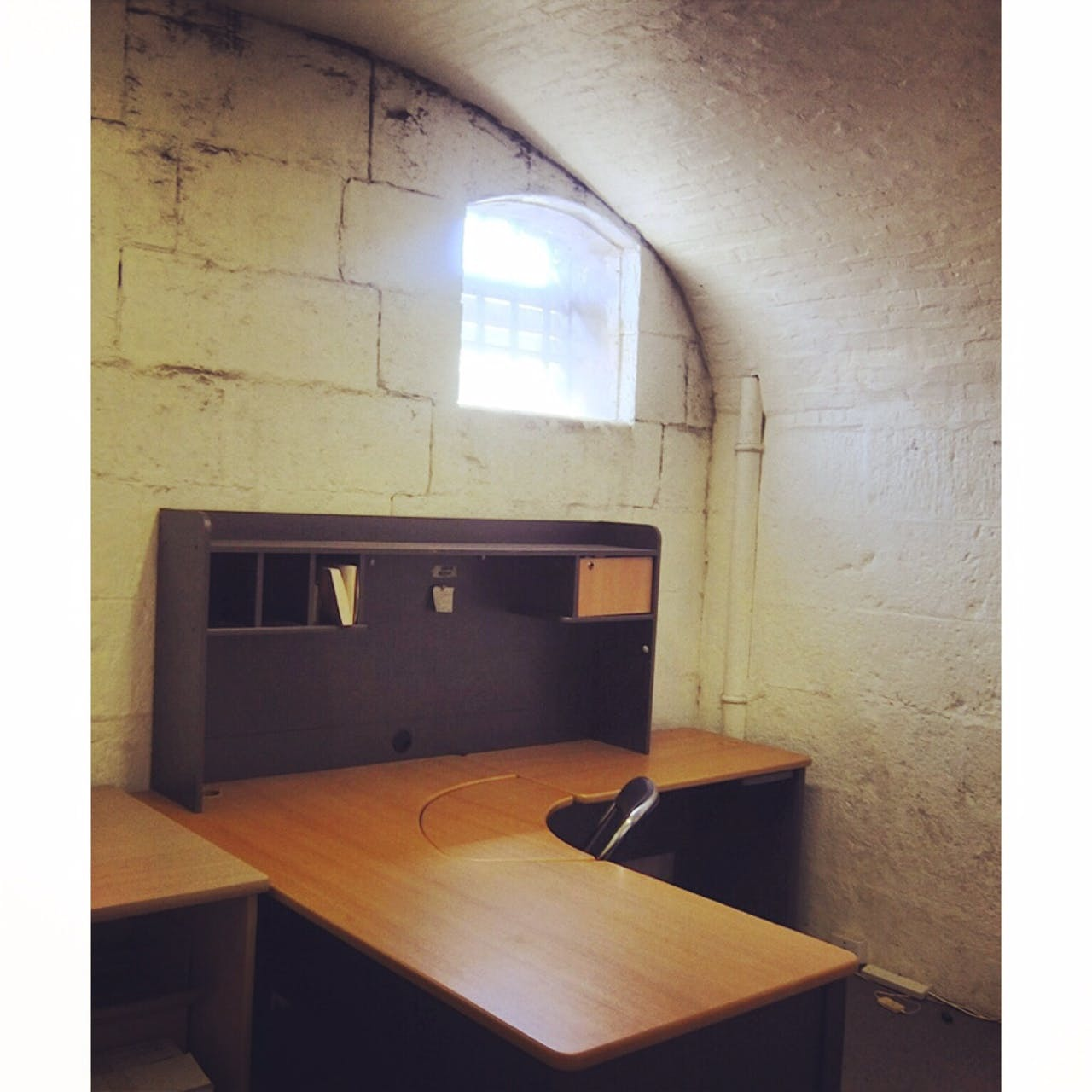 Cells for Writers, creative studio at Old Melbourne Gaol, image 1