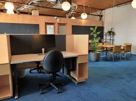 Desks space in open plan area, dedicated desk at POB Space, image 1