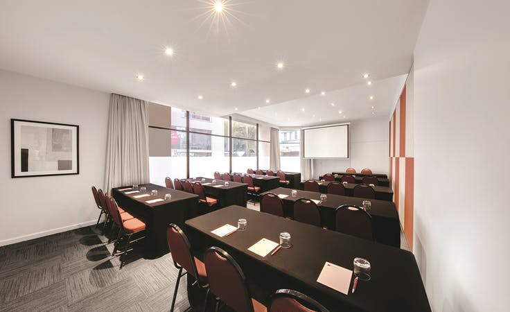 Belvior, meeting room at Naumi Studio Sydney Hotel, image 4