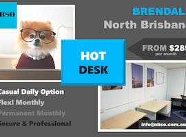 HD1, hot desk at North Brisbane Serviced Offices, image 1