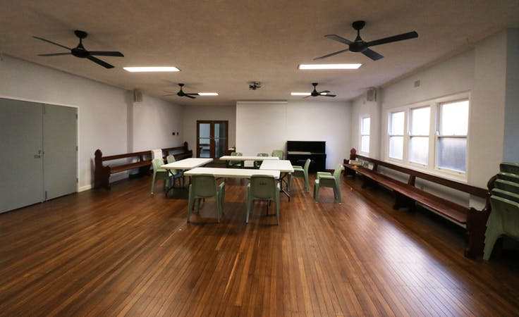The Small Hall, multi-use area at The Hamilton Community Hive, image 1