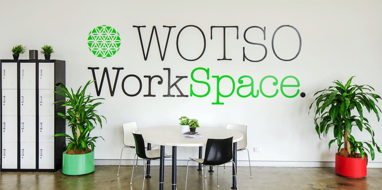 Hot desk at WOTSO Dickson, image 1