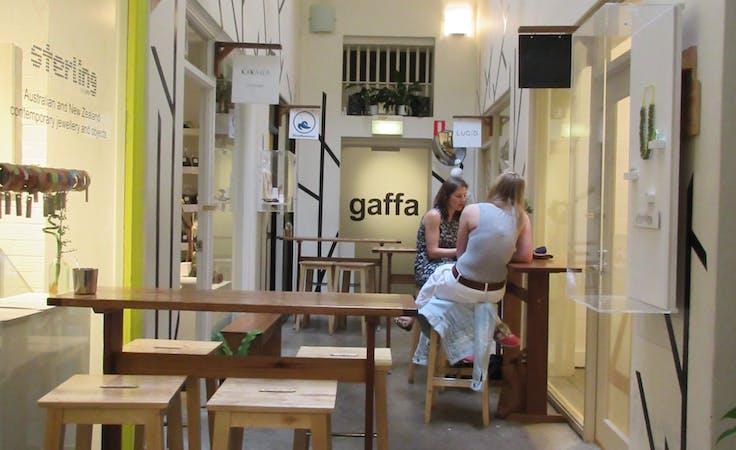 Arcade zero, shopfront at Gaffa Creative Precinct, image 1