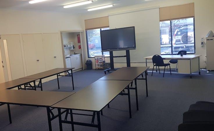 Training room at ECUBIC, image 1