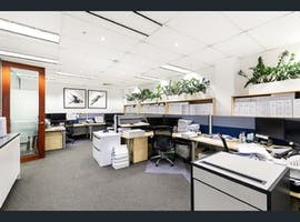 The Harveys, private office at City Mutual Building, image 1