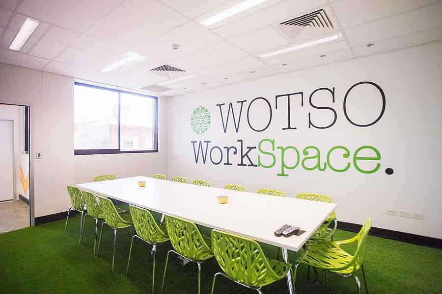 Meeting room at WOTSO Hobart, image 1