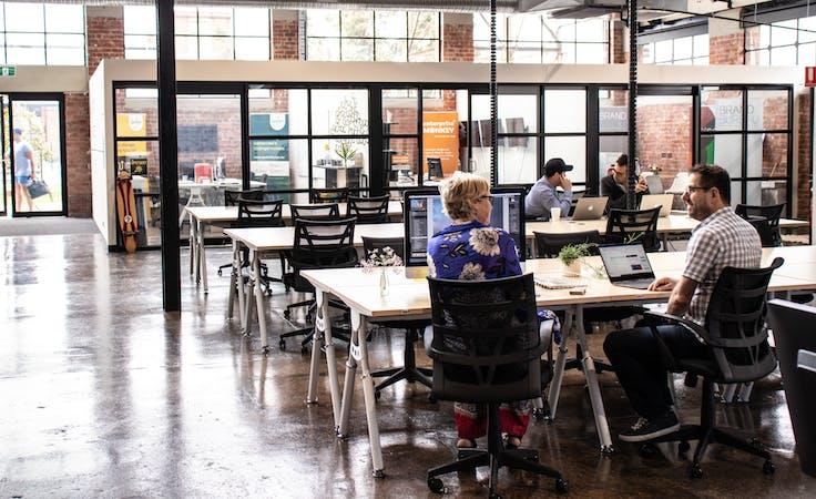 Desk, coworking at Runway Geelong, image 1