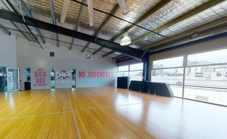 Group Fitness Studio, multi-use area at Crunch Fitness Alexandria, image 1