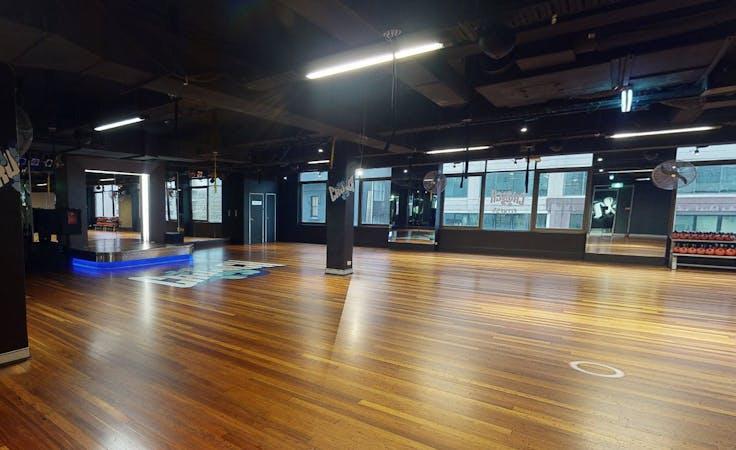 Warrior Studio, multi-use area at Crunch Fitness Sydney CBD, image 1