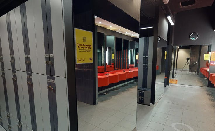 Warrior Studio, multi-use area at Crunch Fitness Sydney CBD, image 4