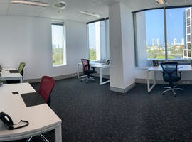 5 Person Window Suite, serviced office at @Workspaces Gold Coast, image 1