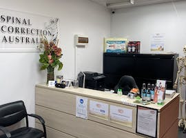 Spacious treatment room in an established Chiropractors Clinic, private office at Spinal Correction Australia, image 1