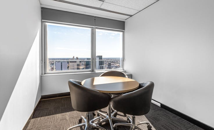 All-inclusive access to professional office space for 4 persons in Regus Forrest Centre, private office at Forrest Centre, image 1