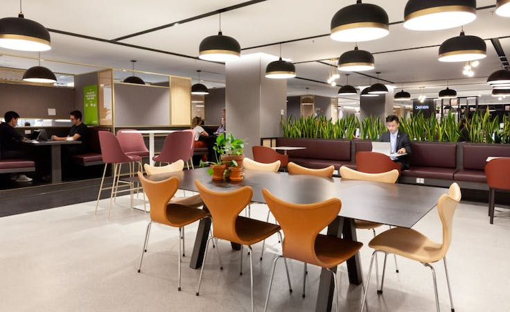 Spaces -Riparian Plaza, private office at Eagle StreetBrisbane, image 5
