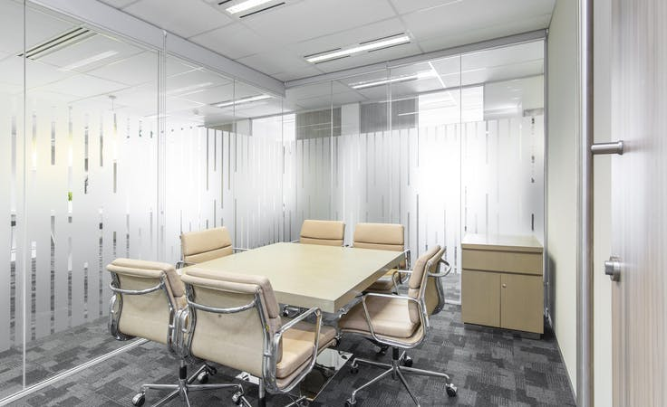Private office space for 4 persons in Regus 100 Havelock , private office at Level 1, 100 Havelock Street, image 1