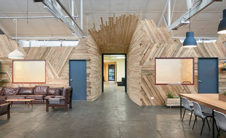 Large studio/workshop in Brunswick East, creative studio at Mycelium Studios, image 1