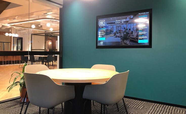 Just Strive, meeting room at JustCo 447 Collins Street, image 1