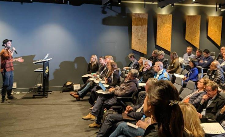 Auditorium/ Conference Venue, conference centre at Level 1 Sydney Startup Hub, image 1