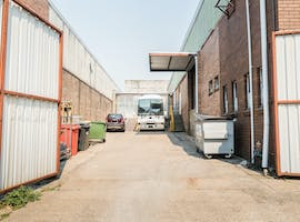 Secured outside space, multi-use area at Warehouse in Botany, image 1