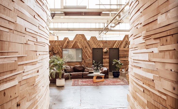 Large Office/Showroom in Brunswick East, private office at Mycelium Studios, image 2