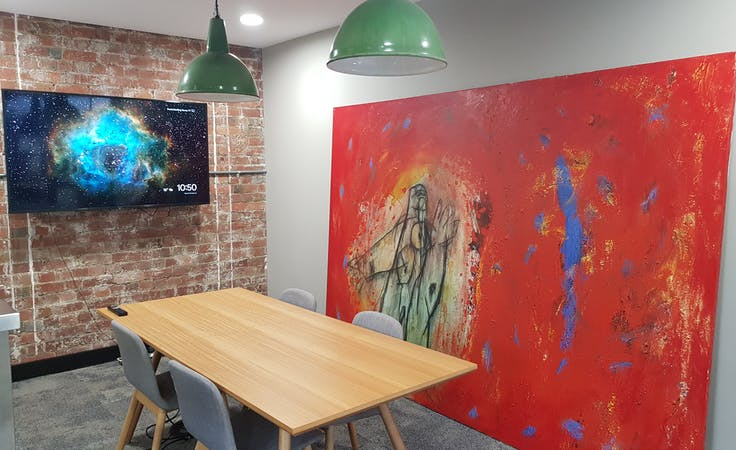 Front, meeting room at Knock Knock Cowork, image 1